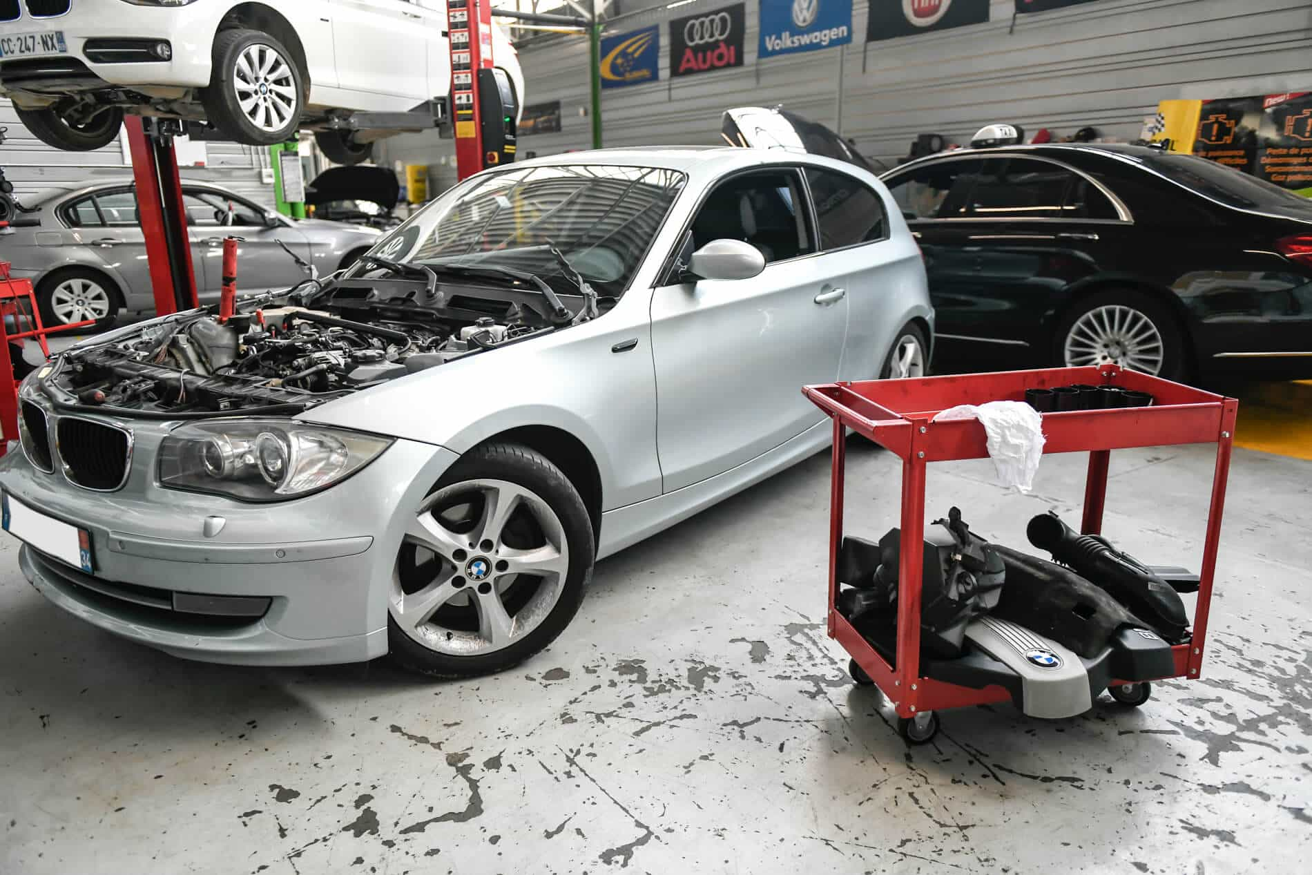 Service de décalaminage moteur chez GRDM Auto.